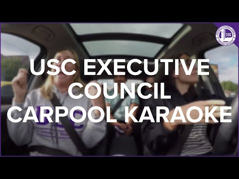 USC Executive Council - Carpool Karaoke