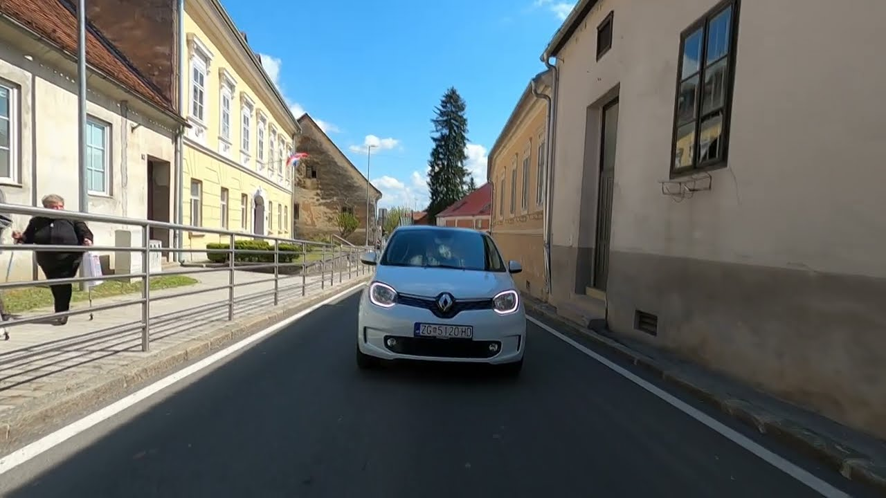 Renault Twingo Z.E. test