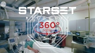 Repeat youtube video Starset - Ricochet (360 Lyric Video)