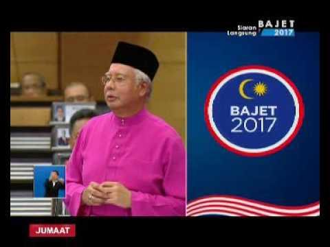 SIARAN LANGSUNG PEMBENTANGAN BAJET 2017 - DATUK SERI NAJIB RAZAK [21 OKT 2016] BHG 2