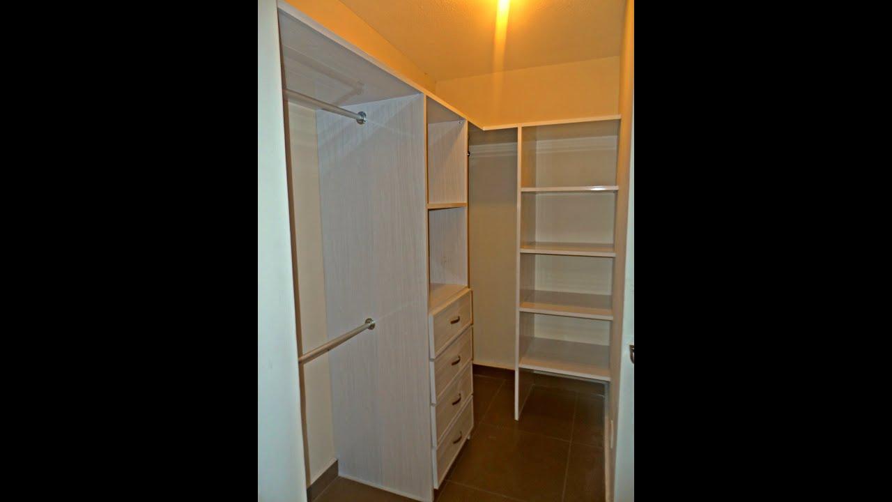Video closet vestidor de pvc youtube for Working closet modernos
