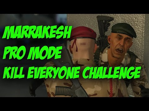 Marrakesh Professional Kill Everyone Challenge