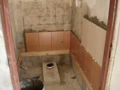 Kompletní přestavba toalety - Toilet renovation - Toilette rekonstruktion