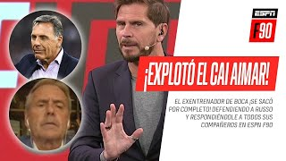 ¡EXPLOTÓ EL CAI! #Aimar se sacó contra TODOS sus compañeros defendiendo a Miguel Ángel #Russo