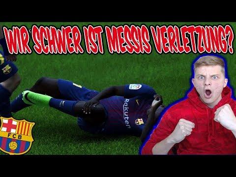 OMG! Messi verletzt! Wie SCHWER ist es wirklich? - Fifa 18 Karrieremodus Fc Barcelona 14