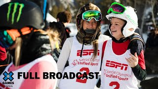 Special Olympics Unified Snowboarding and Skiing: LIVESTREAM | X Games Aspen 2020