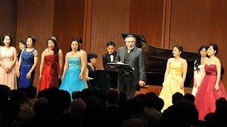 ジュゼッペ・サッバティーニ率いる「サントリーホール オペラ・アカデミー」7分8秒