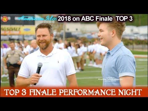 Caleb Lee Hutchinson Homecoming Dallas Georgia  American Idol 2018 Finale Top 3