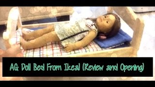 Ikea Doll Bed Opening/review