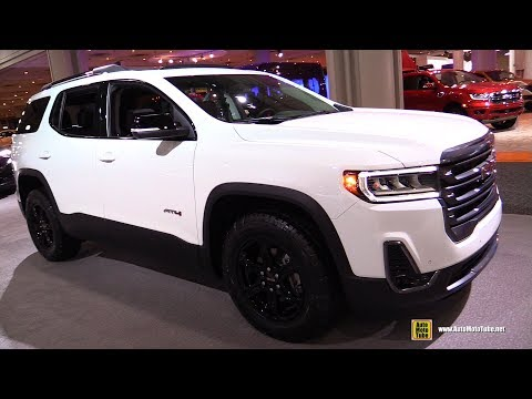 2020 GMC Acadia AT4 - Exterior and Interior Walkaround - Debut at 2019 NY Auto Show