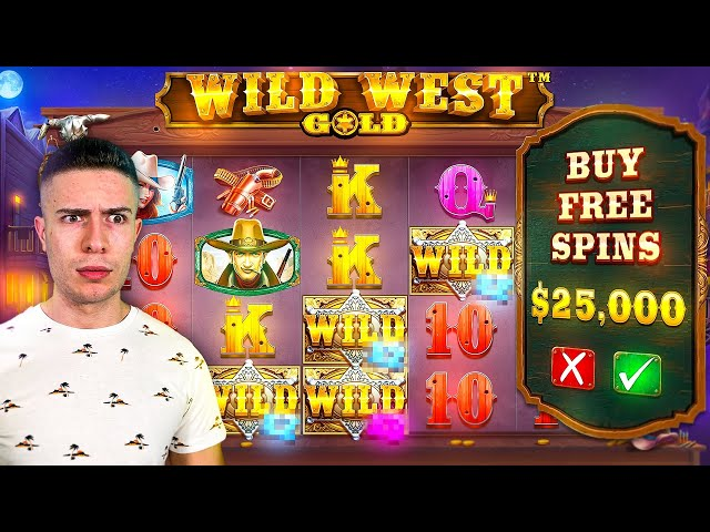 $25,000 Bonus Buy on Wild West Gold (25K SUB SPECIAL #18) 💰