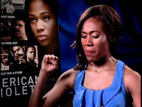 American Violet  Exclusive: Nicole Beharie