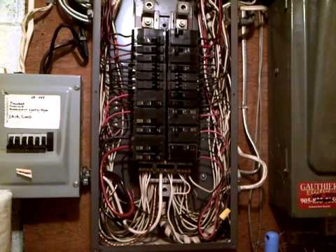 Old 200amp Square D Sub Breaker Panel