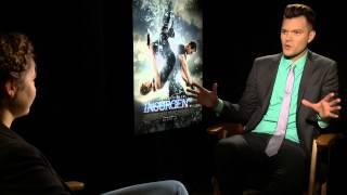 """Shailene Woodley talks """"INSURGENT"""" with AJ Gibson"""