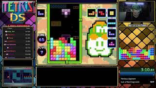 Tetris Ds Speedrun NEW PB! 8:56