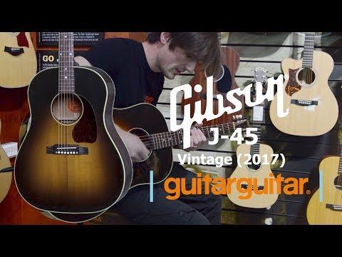 Gibson Montana J45 Vintage (2017) | Acoustic Guitar