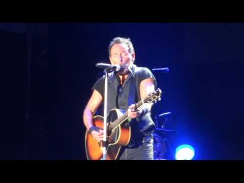 Bruce Springsteen   This hard land  Lissabon 19 may 2016