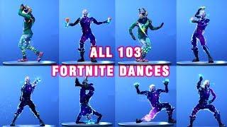 Tất cả 103 điệu nhảy trong Fortnite ngoài đời thực