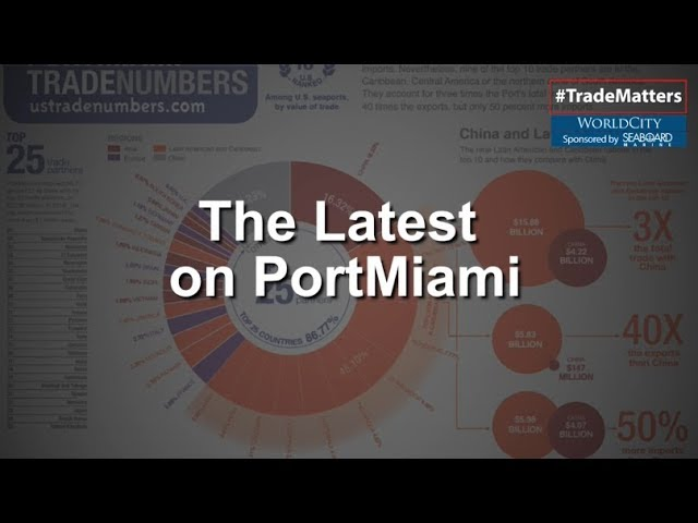 The Latest on PortMiami Trade