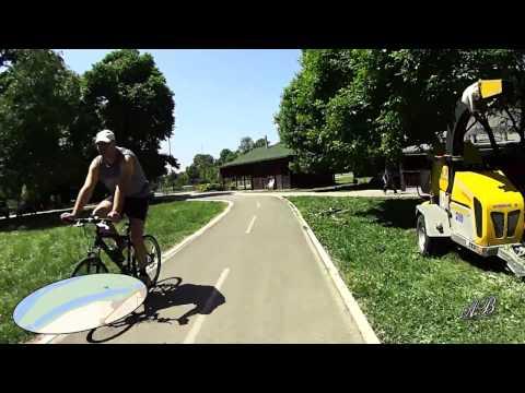 Biciklom oko Ade Ciganlije, maj 2015.