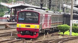 vuclip Kompilasi Perlintasan Kereta Api Indonesia Tersibuk #7 (Indonesia Railroad Crossing Train)