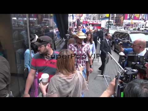 Luke Bryan and Jason Aldean at the 'Good Morning America'...