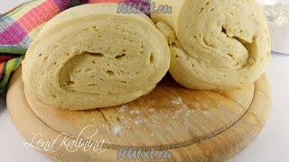 Быстрое слоеное дрожжевое тесто  Пошаговый рецепт с фото
