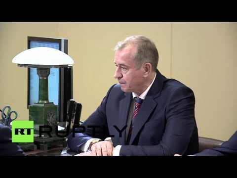 Russia: Putin meets newly elected heads of Irkutsk & Yamalo-Nenets