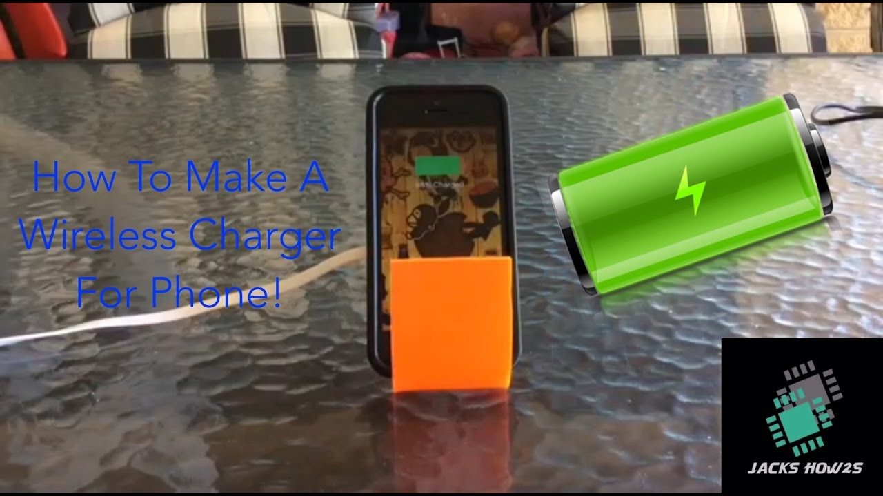 how to make a wireless phone charger youtube. Black Bedroom Furniture Sets. Home Design Ideas
