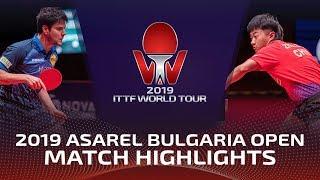 Zhao Zihao vs Dimitrij Ovtcharov | 2019 ITTF Bulgaria Open Highlights (1/4)
