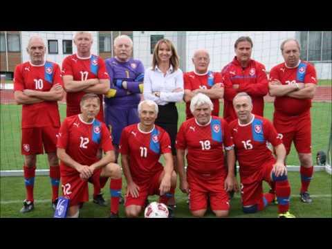 Seniorský fotbal v chůzi Strahov - 22 9  2017