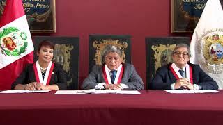 Tema: Mensaje de las autoridades de la UNMSM ante el Licenciamiento institucional