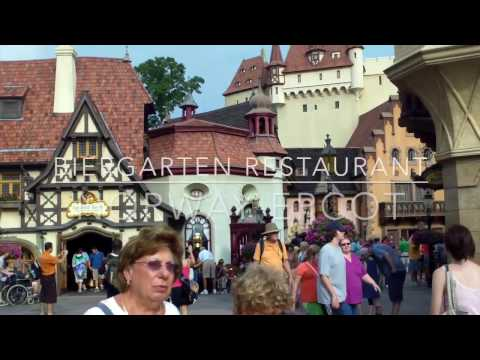 Biergarten Restaurant EPCOT Germany Highlights