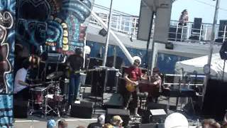 """Cover images New Mastersounds Jamcruise 7 1/5 2009 Pool Deck """"Burnt Back"""""""