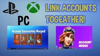 *NEW* Fortnite Update MERGE ACCOUNTS! | How To LINK Accounts In Fortnite!