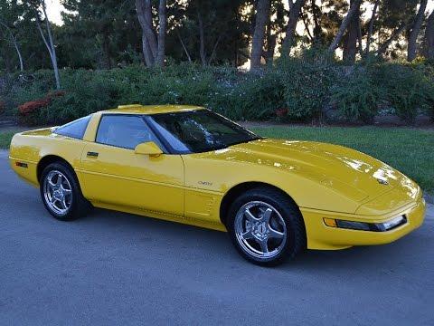 1995 Corvette For Sale >> Sold 1995 Chevrolet Corvette Zr 1 Coupe For Sale By Corvette Mike