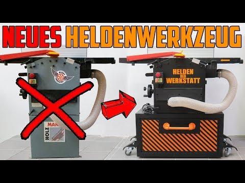 💣-hobel-🔥-umbau---neues-heldenwerkzeug-(holzmann-hob260-abs-abricht--und-dickenhobelmaschine)