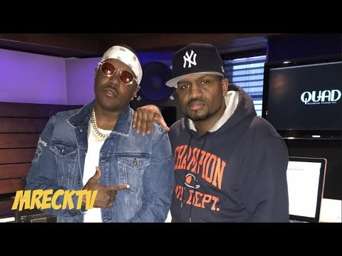 Mase And M.Reck In The Studio Where 2Pac Incident Happened At.(Quad Studios)