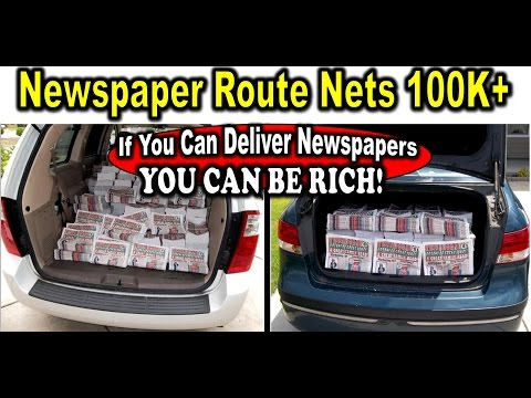 Can You Deliver NewsPapers?