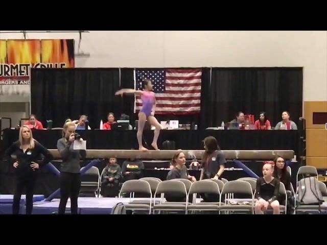 2018 Auburn National Elite Qualifier (beam 14.5)