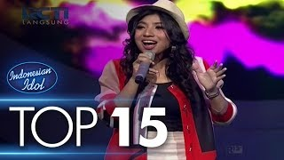 JK - FANA MERAH JAMBU (Fourtwnty) - TOP 15 - Indonesian Idol 2018