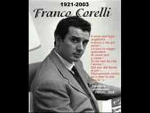 Franco Corelli:  Amazing! Vesti la Giubba