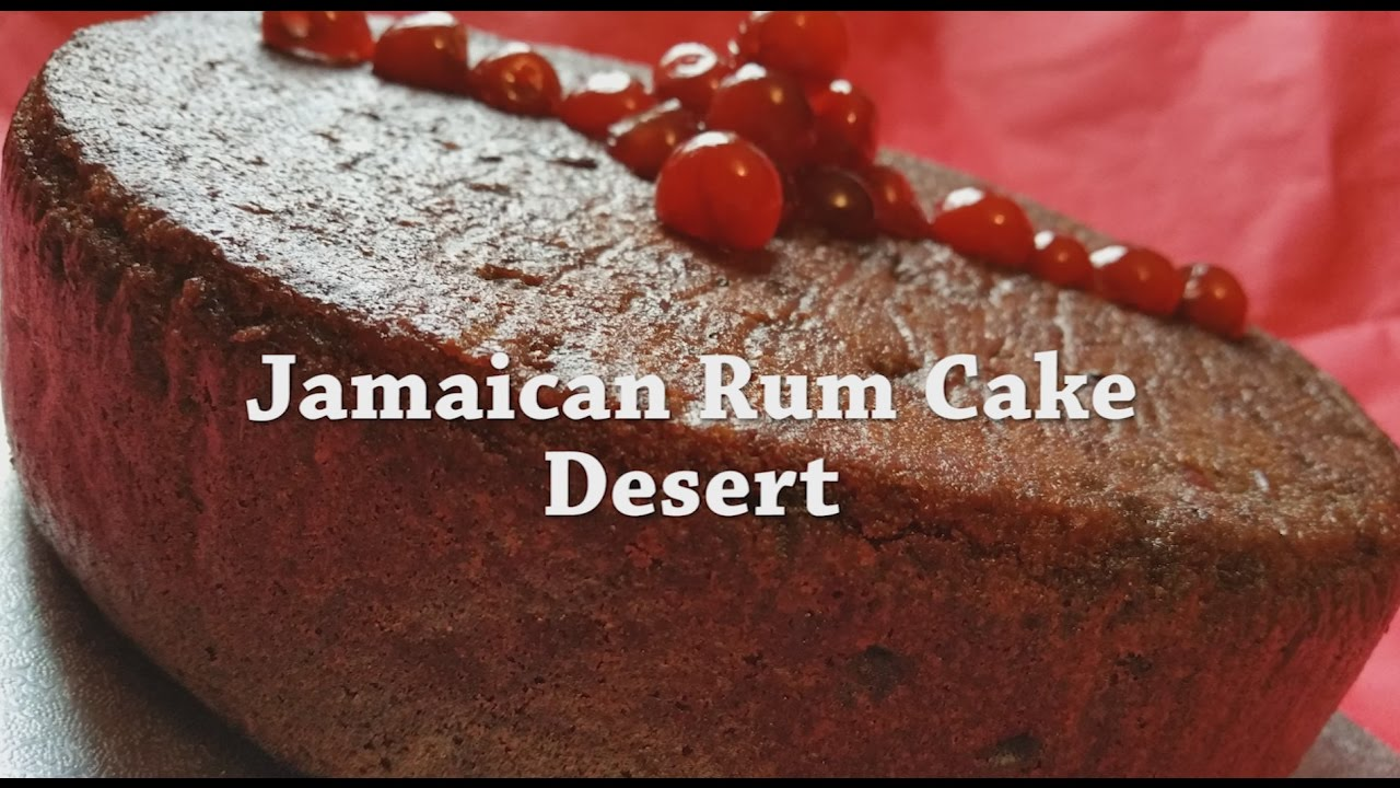 Jamaican Rum Cake Recipe Youtube