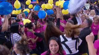 Legendary Gymnastics coach Valorie Kondos Field gets dance party sendoff from UCLA