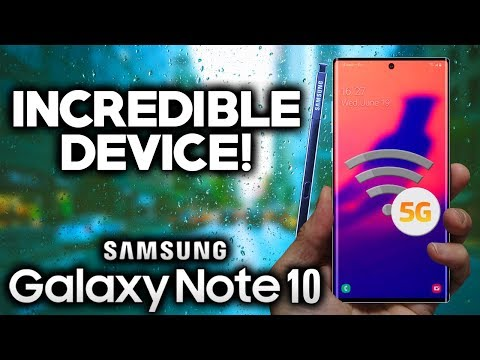 SAMSUNG GALAXY NOTE 10 - This Is Incredible!