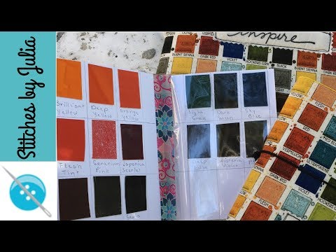 Fabric Inspiration, A Fabric Art Kit Featuring Peerless Watercolors