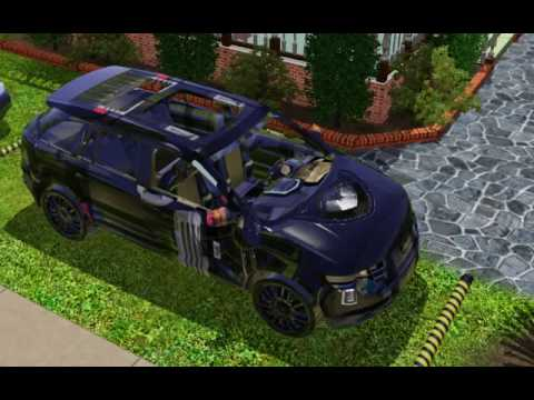We All Start Somehere First Try At Sims 3 Cc Car Youtube