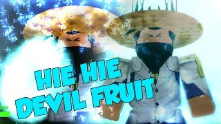 "HIE-HIE ""ICE-ICE"" DEVIL FRUIT One Piece Bizzarr Adventure a Roblox iBeMaine"