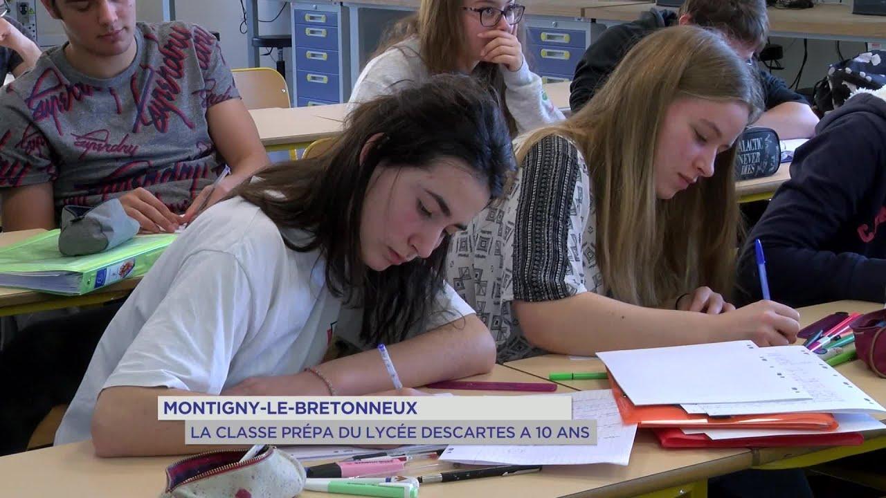 Yvelines | Montigny-le-Bretonneux : La classe prépa du lycée Descartes a 10 ans