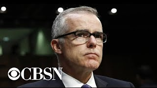 Trump slams Andrew McCabe, Rod Rosenstein in wake of